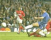 Dù ghi bàn, Lampard chẳng thể giúp Chelsea chiến thắng.