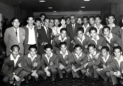 Cùng đội tuyển miền Nam Việt Nam đoạt HC vàng SEAP Game 1959.