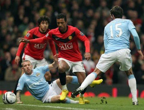 Bản lĩnh, sự hứng khởi cần có trong những trận derby đã giúp MU vượt qua thời khắc nghặt nghèo nhất. Ảnh: AFP.