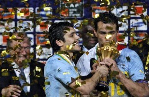 Ai Cập vô duyên với World Cup, nhưng ở sân chơi CAN, họ là số một. Ảnh: AP.