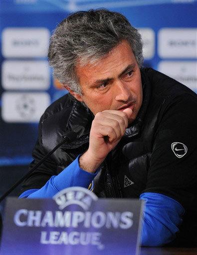 Với Inter, Mourinho ấp ủ rất nhiều tham vọng trong lần tứ tư ông dẫn dắt một CLB vào tới bán kết Champions League. Ảnh: AFP.