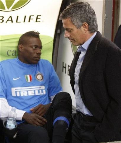 Mourinho không cần những cầu thủ ương ướng và ích kỷ như Balotelli. Ảnh: La Presse.