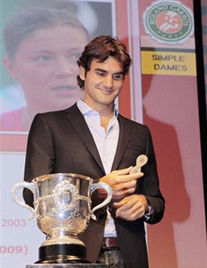 Roger Federer khó bảo vệ được chức vô địch Pháp Mở rộng. Ảnh: AFP.