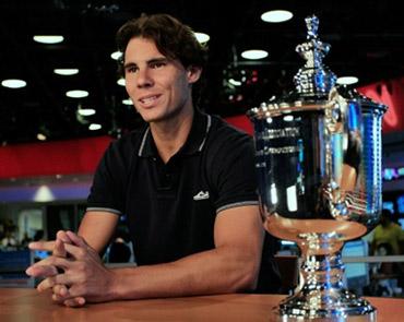Rafael Nadal mới có danh hiệu Grand Slam thứ 9 trong sự nghiệp. Ảnh: AFP.