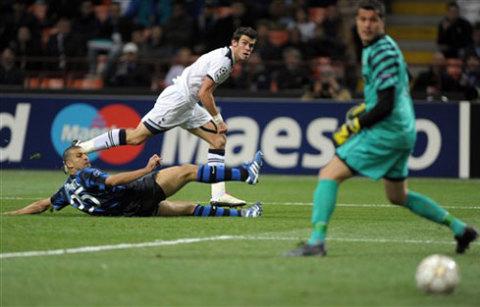 Inter đã được Tottenham dạy cho một bài học về sự chủ quan trong hiệp hai trận lượt đi. Ảnh: AFP.