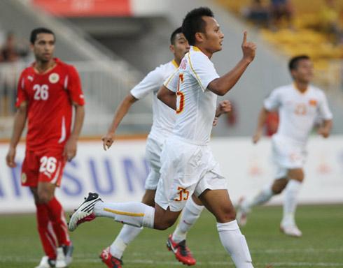 Trọng Hoàng cũng là trụ cột ở đội tuyển quốc gia.