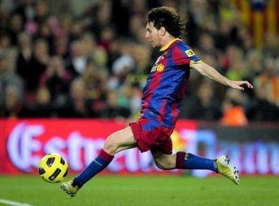 Messi thường ghi được những bàn thắng mang tính nghệ thuật.