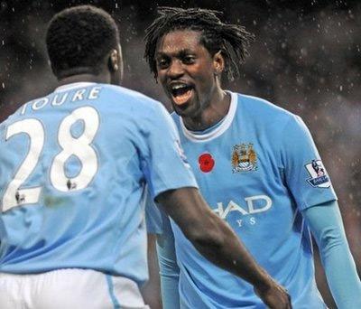 Adebayor không còn chỗ đứng ở Man City.