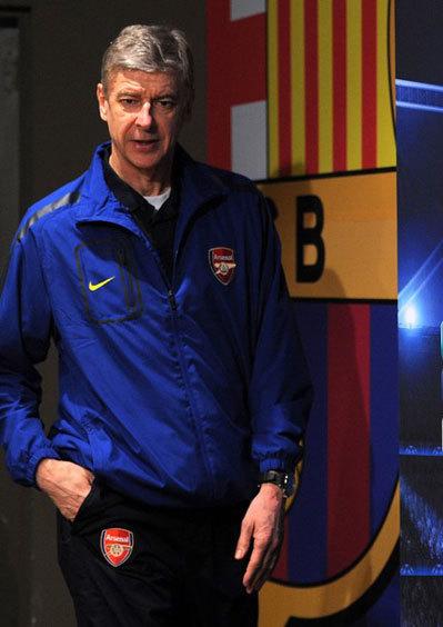 Wenger cho rằng một kết quả hòa 0-0 tại Nou Camp hôm nay là điều phi thực tế. Ảnh: AFP.