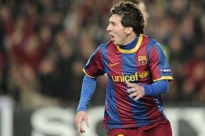 Tuần trước, Messi đã ghi 2 bàn giúp Barca loại Arsenal và vào tứ kết Champions League.