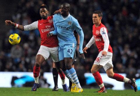 Tân chủ nhân Quả bóng vàng châu Phi Yaya Toure là trụ cột không thể thay thế ở Man City. Ảnh: AFP.