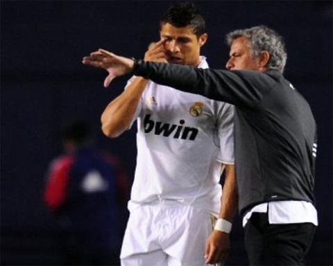 Ronaldo và Mourinho.
