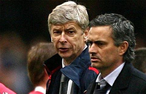 Wenger và Mourinho