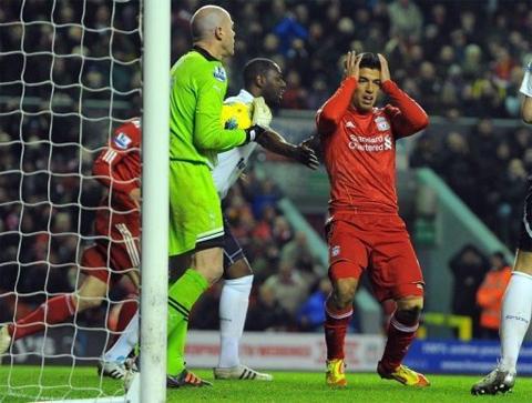 Liverpool (đỏ) vẫn chưa thể chen chân vào Top 4.
