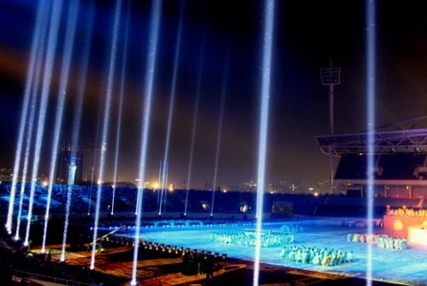 Sân vận động Mỹ Đình, biểu tượng gắn với thành công của kỳ SEA Games đầu tiên diễn ra tại Việt Nam năm 2003.