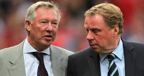 Ferguson và Redknapp được xem là hai HLV giàu uy tín nhất bóng đá Anh hiện tại.