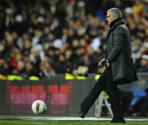 Nhiều CĐV vẫn lưu luyến Mourinho dù ông đã ra đi nhiều năm.