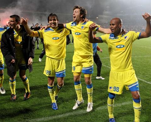 Champions League, theo Mourinho, hấp dẫn hơn nhờ những hiện tượng như APOEL Nicosia. Ảnh: AFP.