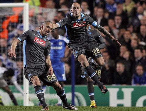 Napoli đã chơi không tệ, nhưng thiếu chút may mắn và Chelsea quá quyết tâm.