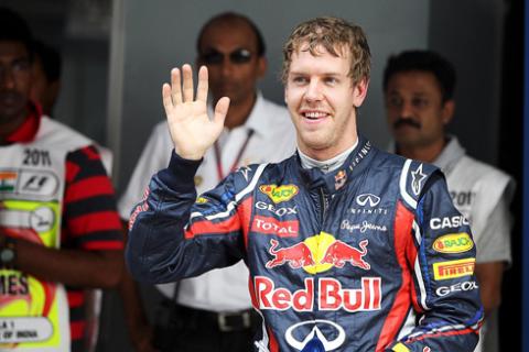 Thành tích phân hạng xuất sắc của Vettel giúp Red Bull thiết lập kỷ lục mới.