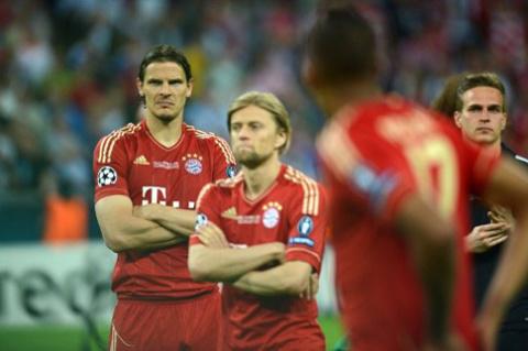 Cầu thủ Bayern chỉ còn biết tự trách mình.