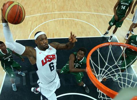 Bóng rổ Mỹ lập kỷ lục ghi điểm tại Olympic - VnExpress Thể thao