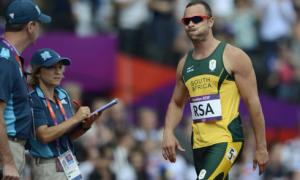 'Người không chân' Pistorius tay trắng rời London