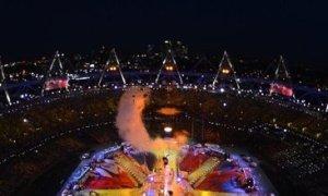 Sắc màu kỳ ảo trên sân Olympic