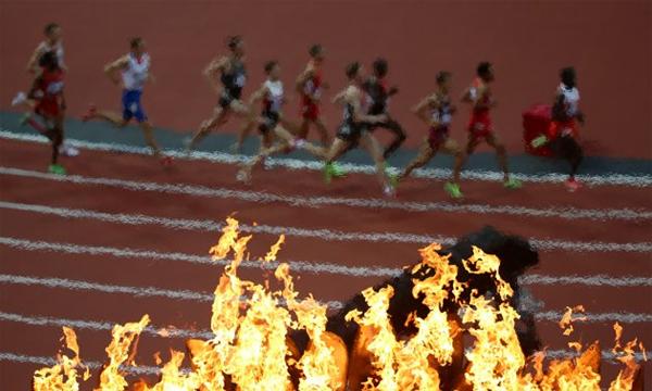 Hình ảnh độc đáo tại Olympic 2012