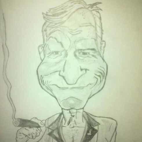 Ông chủ Playboy Hugh Hefner.