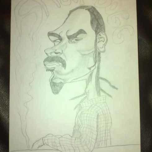 Sao nhạc rap Snoop Dogg.