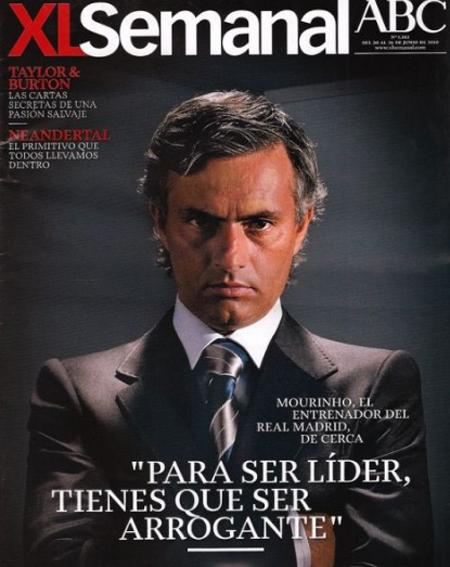 HLV Mourinho trên bìa tạp chí XL Seme