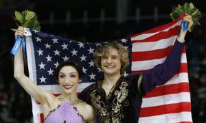 Mỹ làm nên lịch sử tại môn khiêu vũ trên băng