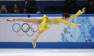 Kim Yuna dẫn đầu trượt băng nghệ thuật nữ