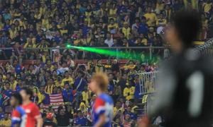 Tuyển Việt Nam sợ bị chiếu laser, ném pháo