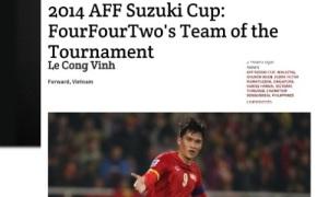 Báo Malaysia chọn Công Vinh, Thành Lương vào Đội hình tiêu biểu