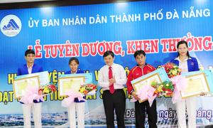 Đà Nẵng khen thưởng VĐV và HLV xuất sắc tại SEA Games 28