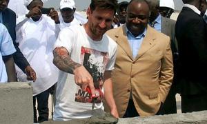 Gabon phủ nhận vụ chi đậm cho Messi