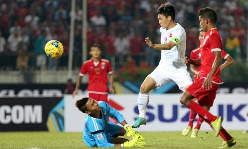 Văn Thanh và Công Vinh vào đội hình tiêu biểu AFF Cup 2016