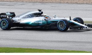 10 chiếc xe tham dự mùa giải F1 2017