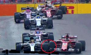 Vettel trả đũa Hamilton như thế nào