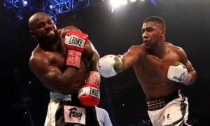 Joshua lại thắng knock-out, bảo vệ thành công đai IBF, WBA