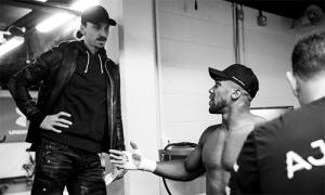 Ibrahimovic cho Joshua lời khuyên trước trận bảo vệ đai vô địch