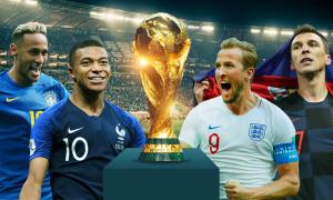 Những thống kê nổi bật tại World Cup 2018