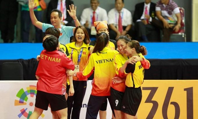 Việt Nam có thêm HC bạc ở môn cầu mây