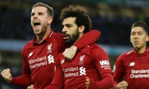 Liverpool ngắt mạch thua nhờ quả phạt đền của Salah