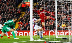 Salah chạm mốc 50 bàn tại Ngoại hạng Anh