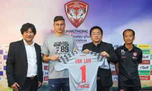 Đặng Văn Lâm là thủ môn đắt giá nhất trong lịch sử Muangthong United