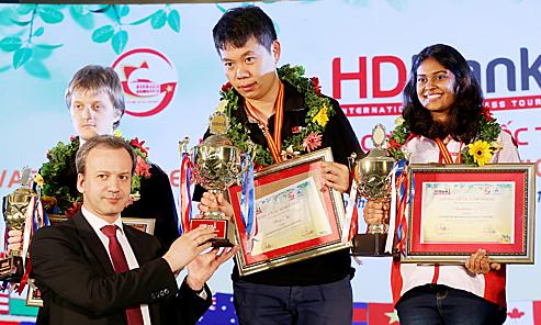 Chủ tịch FIDE: 'Việt Nam có thể trở thành cường quốc cờ vua'