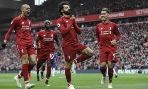 Liverpool rộng cửa tới ngôi vô địch Ngoại hạng Anh